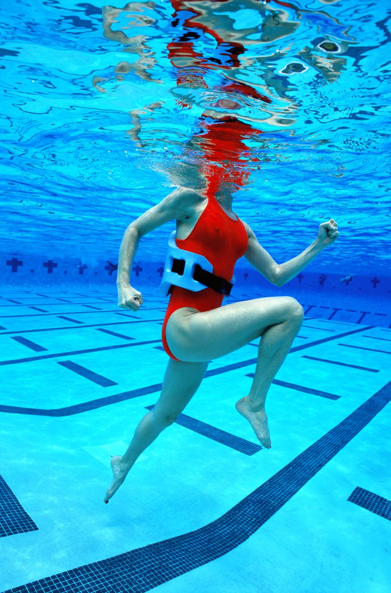 How to do deep water running injury recovery - Calories burned walking in swimming pool ...