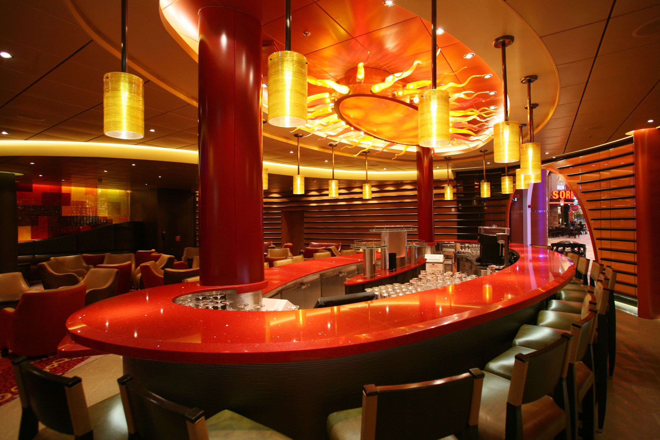 Lounges and Bars on the Allure of the Seas Cruise Ship