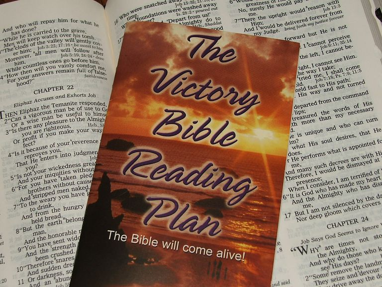 The Victory Bible Reading Plan