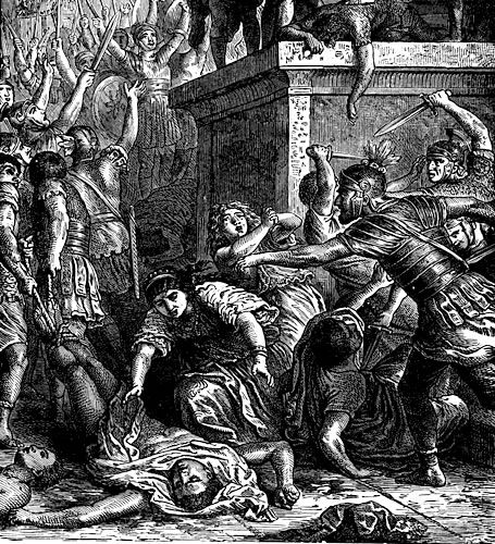 Riots: God Sees the Wickedness of Man: Genesis 6:1-7