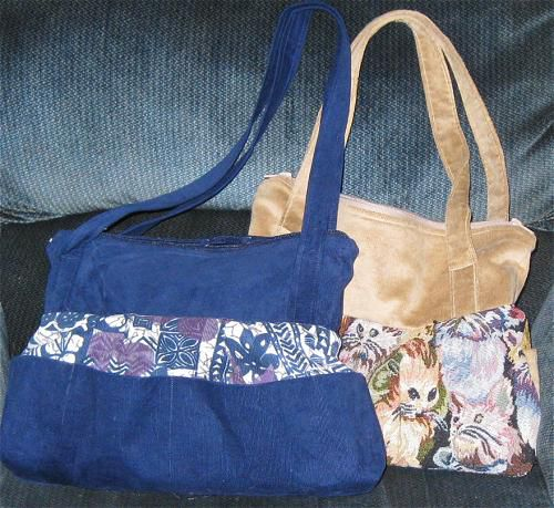 Sew Purses, Walker Totes, Bags and More