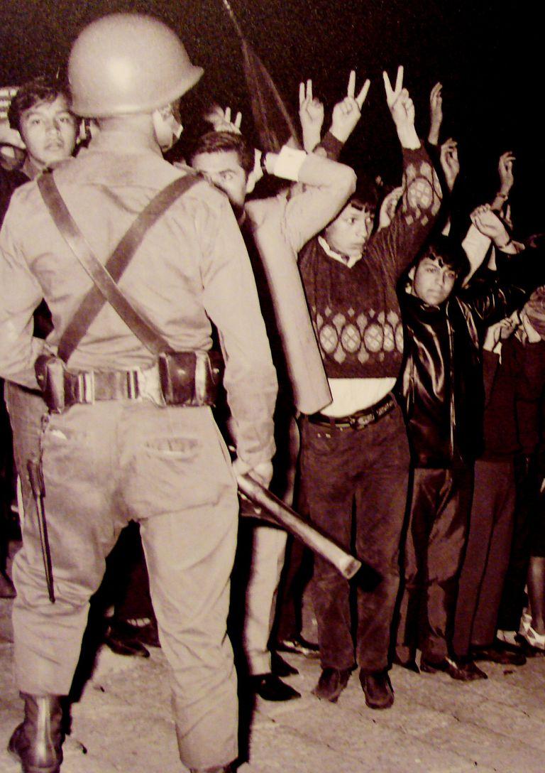 The Tlatalolco Protest