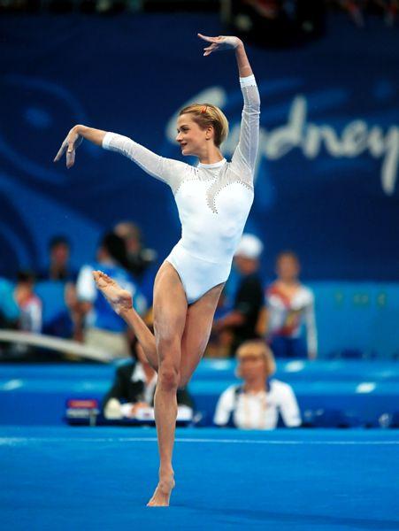 Gymnast Svetlana Khorkina
