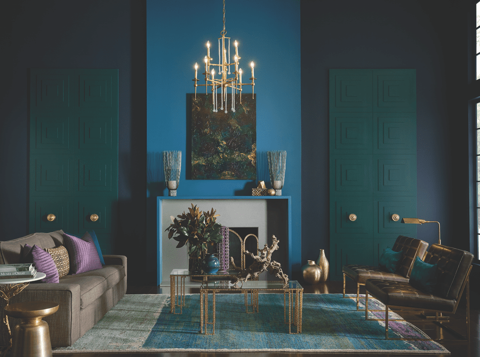 Sherwin-Williams 2017 Color Trends Nocturnal