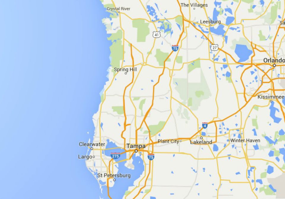 Maps Of Florida Orlando Tampa Miami Keys And More - Map of western florida