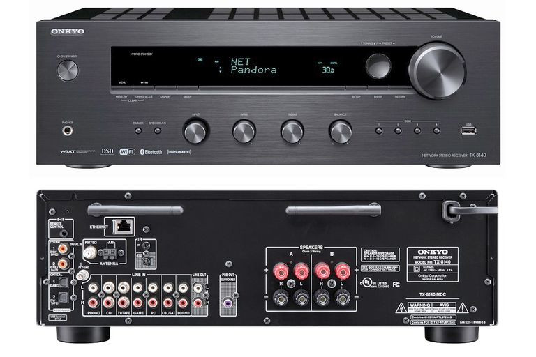Onkyo TX-8140 Two-Channel Network Stereo Receiver