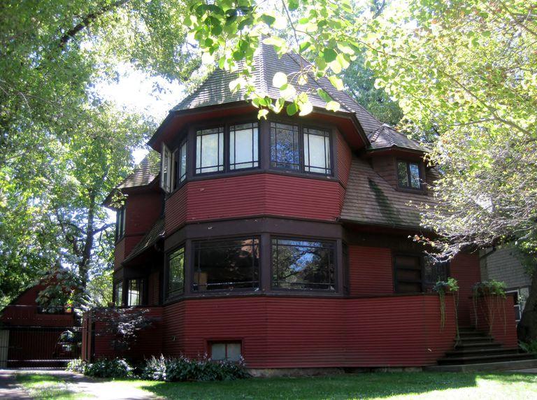 Frank Lloyd Wright Pre 1900 The First Prairie Houses