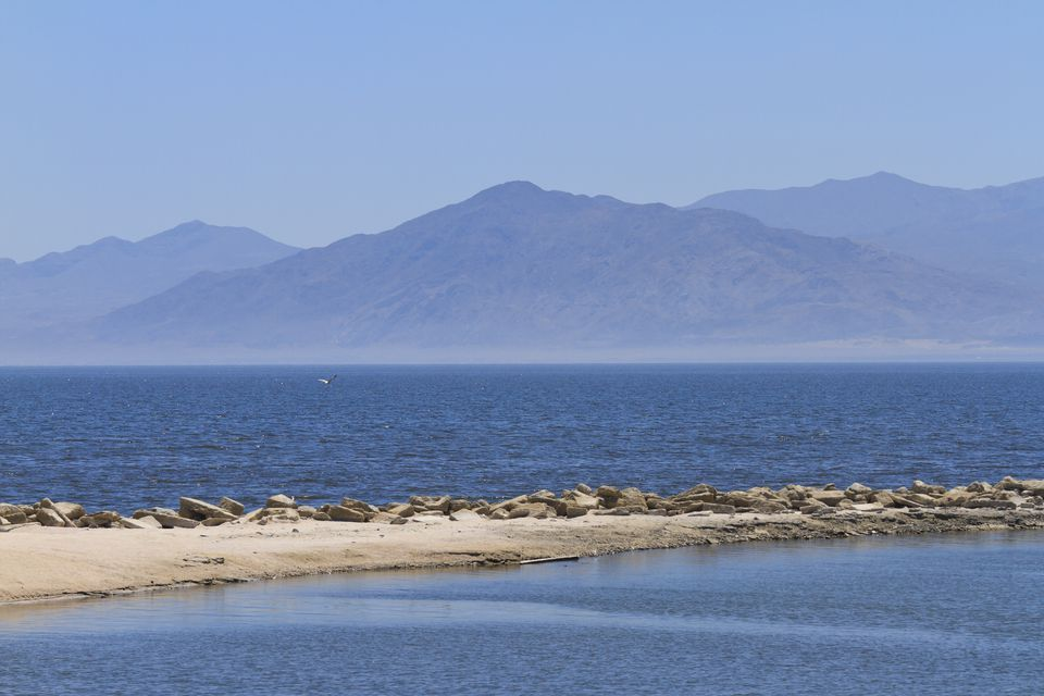 The Salton Sea In the California Desert
