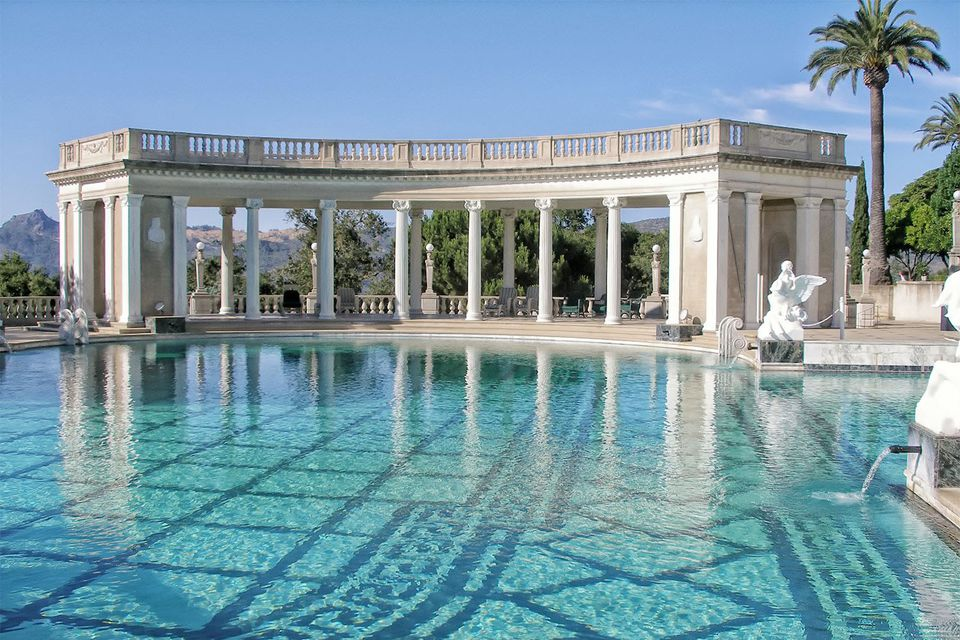 Neptune Pool - Hearst Castle
