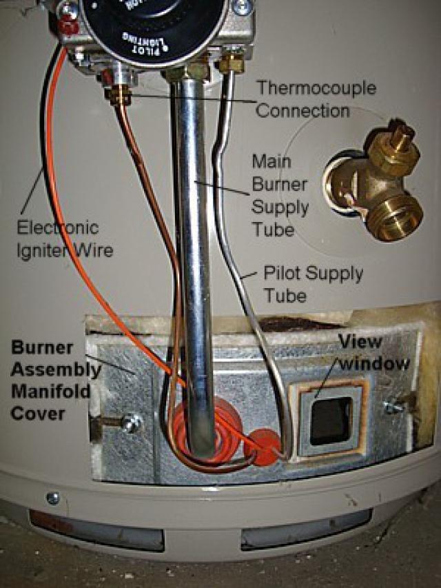 Whirlpool Water Heater N40t61 343 Manual