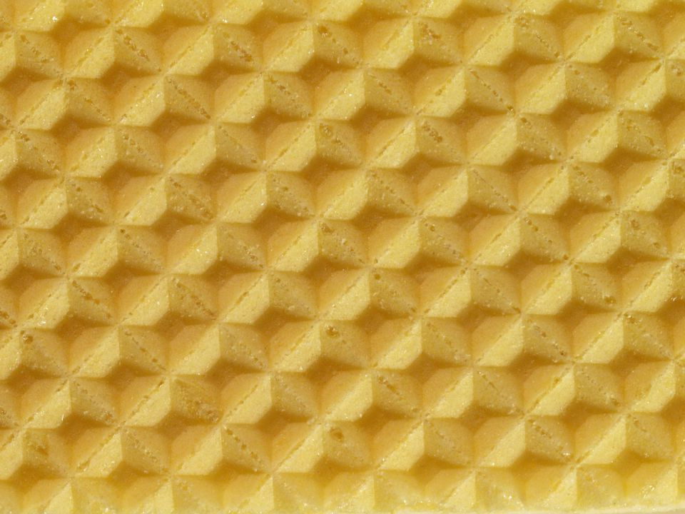 Close-up of a wafer
