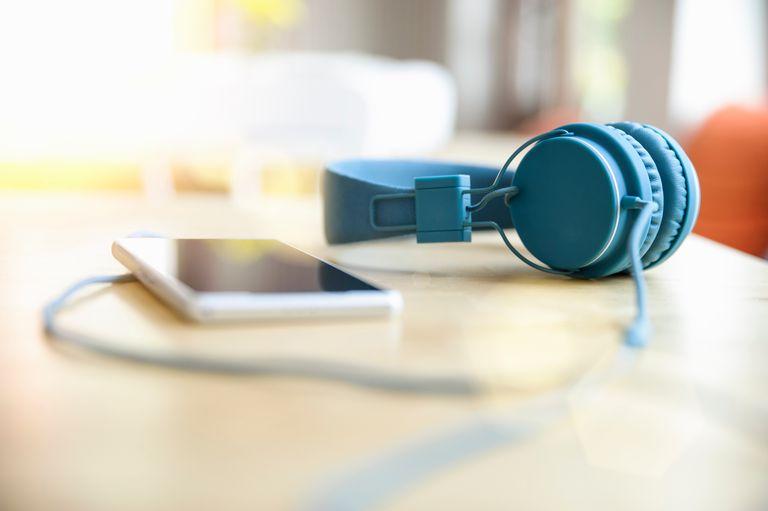iPod and Headphones