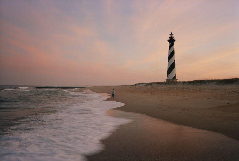 Cape Hatteras Lighthouse, Cape Hatteras National Seashore, Outer Banks