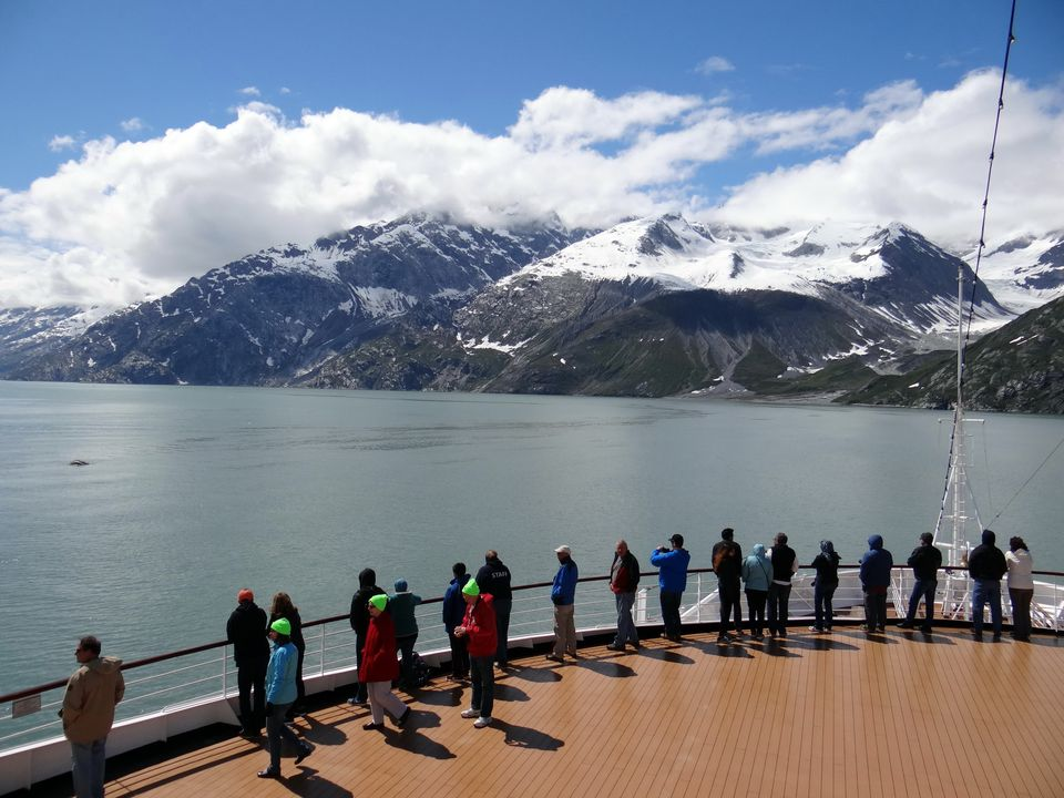 The magnificent scenery of Glacier Bay Alaska is mesmerizing