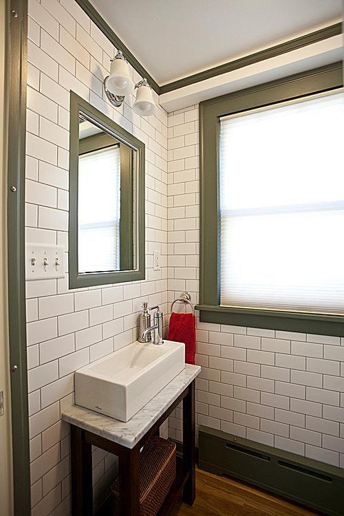 tiny bathroom. tiny bathroom narrow sink 7 Great Ideas For Tiny Bathrooms