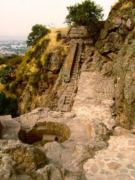 Baño real de Netzahualcóyotl