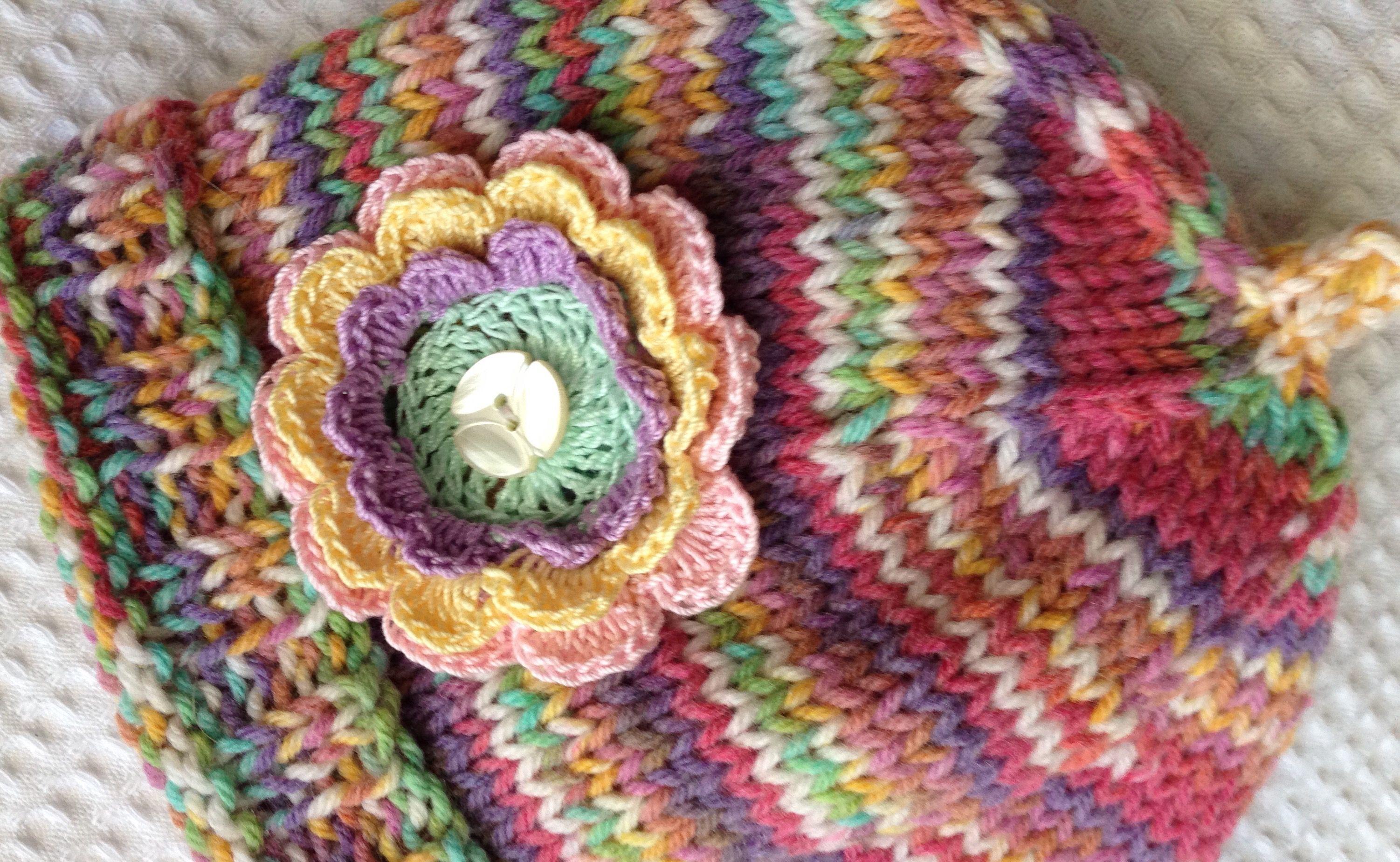 Easy crochet flower patterns bankloansurffo Gallery