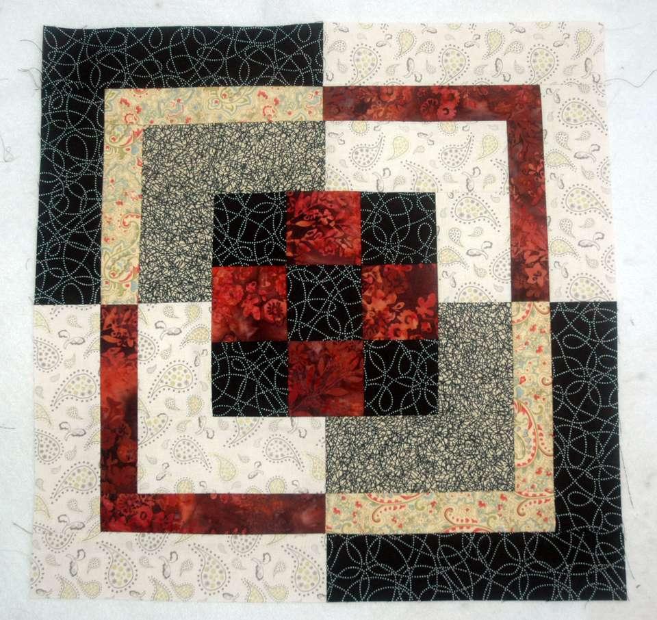 Nine Patch Bento Box Quilt Pattern