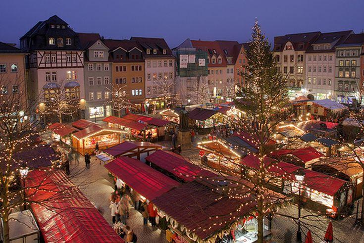 german christmas market jena - German Christmas Tree