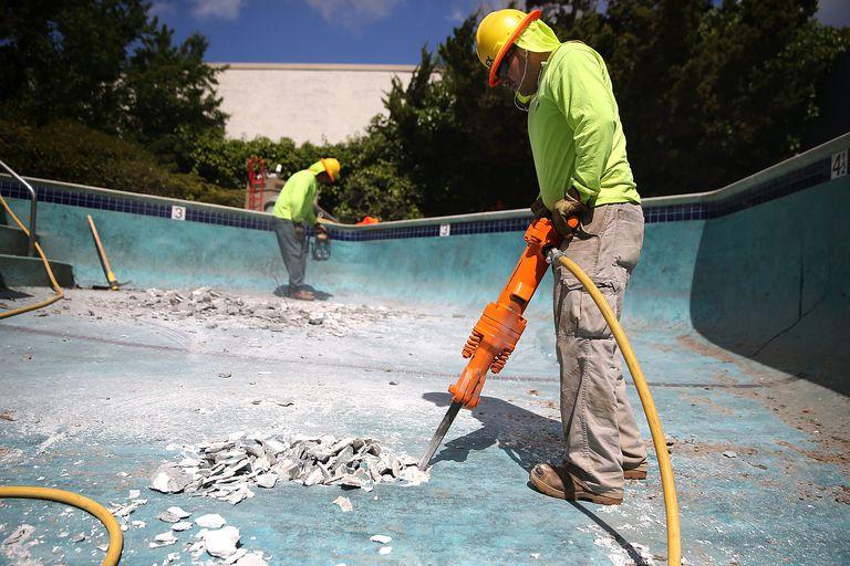 Some California Residents Opting To Shutter Their Pools Due To State's Severe Drought