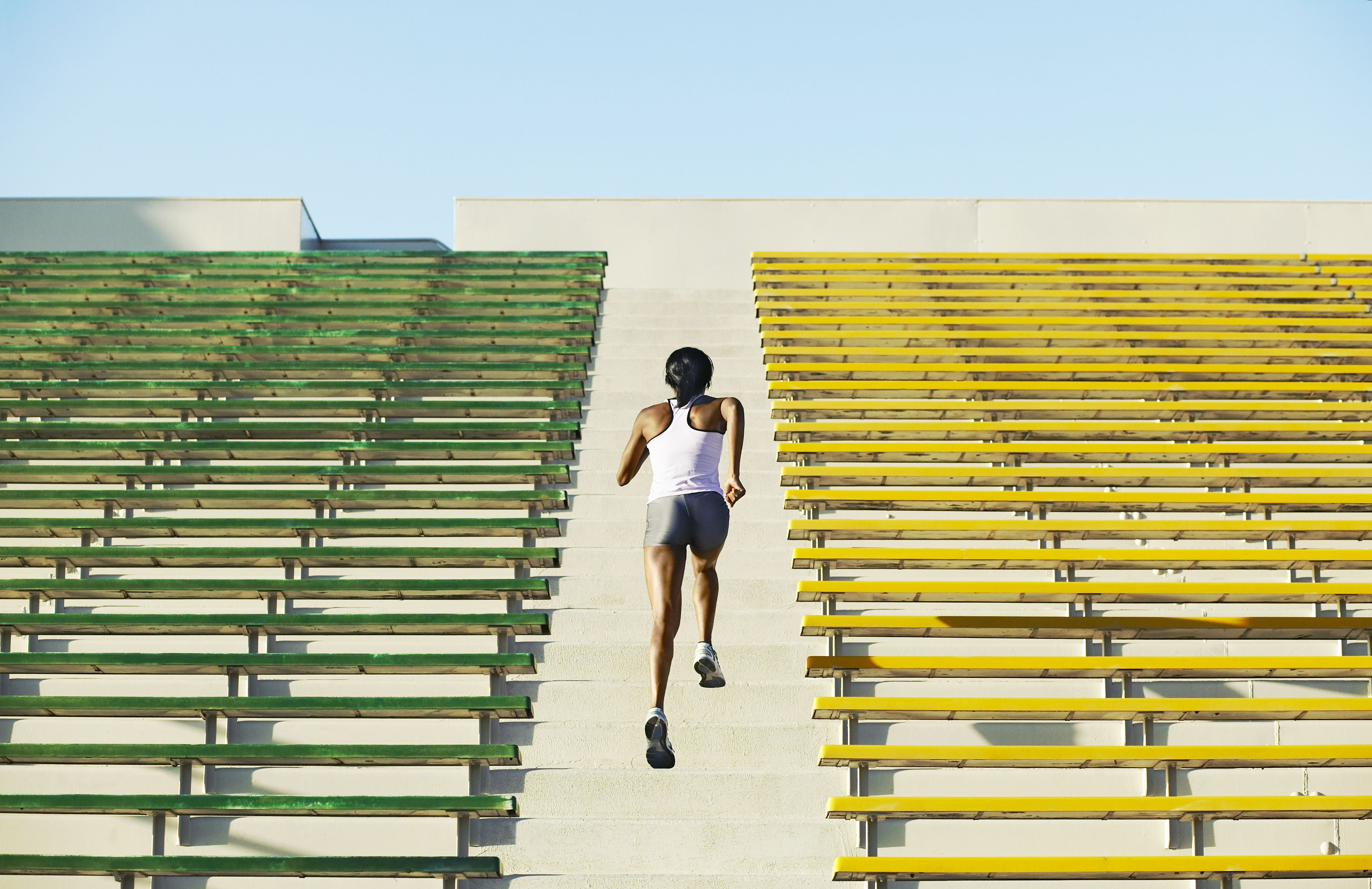 Stairs Workout Routine for Bleachers