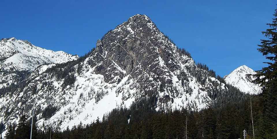 Snoqualmie Montain in Washington State.