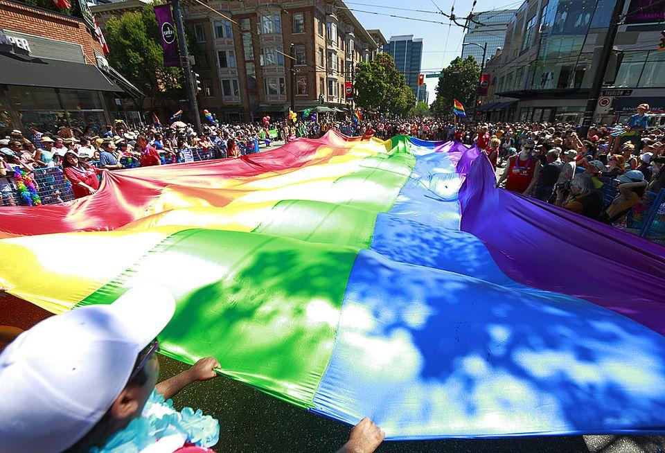Vancouver Hosts Gay Pride Parade