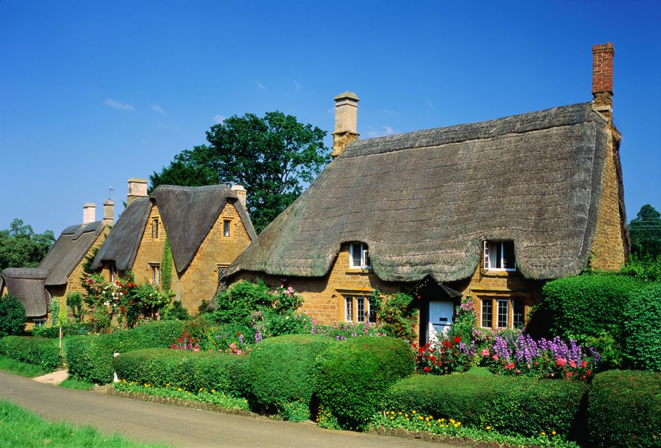 thatched country cottages in england and wales