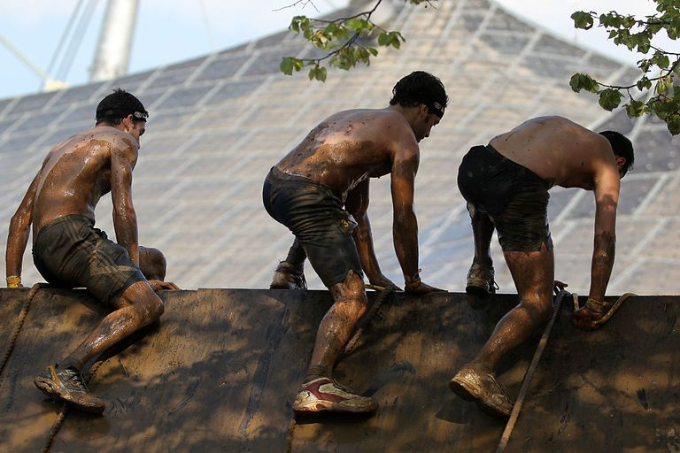 Spartan Race participants