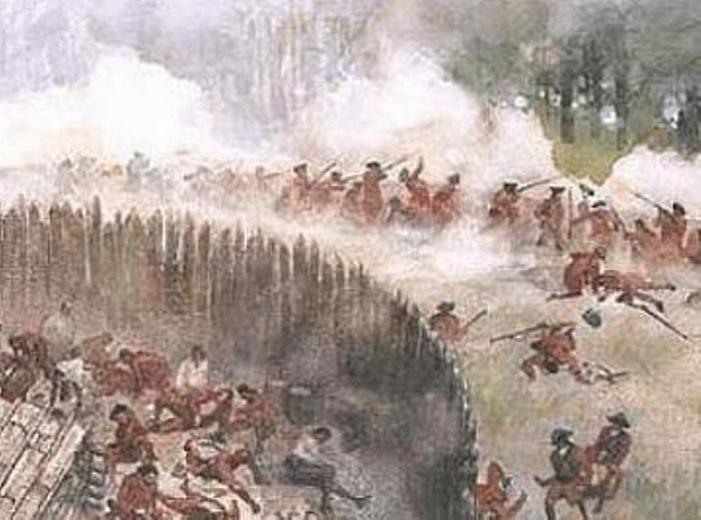 French attack on Fort Necessity