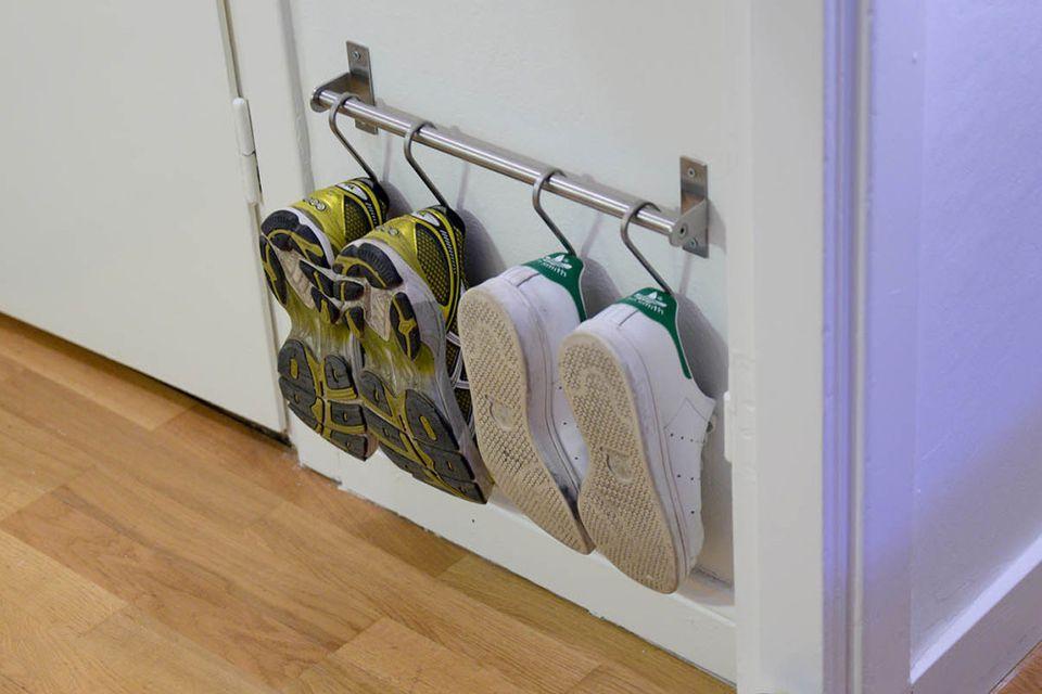 15 ikea hacks for small entryways. Black Bedroom Furniture Sets. Home Design Ideas