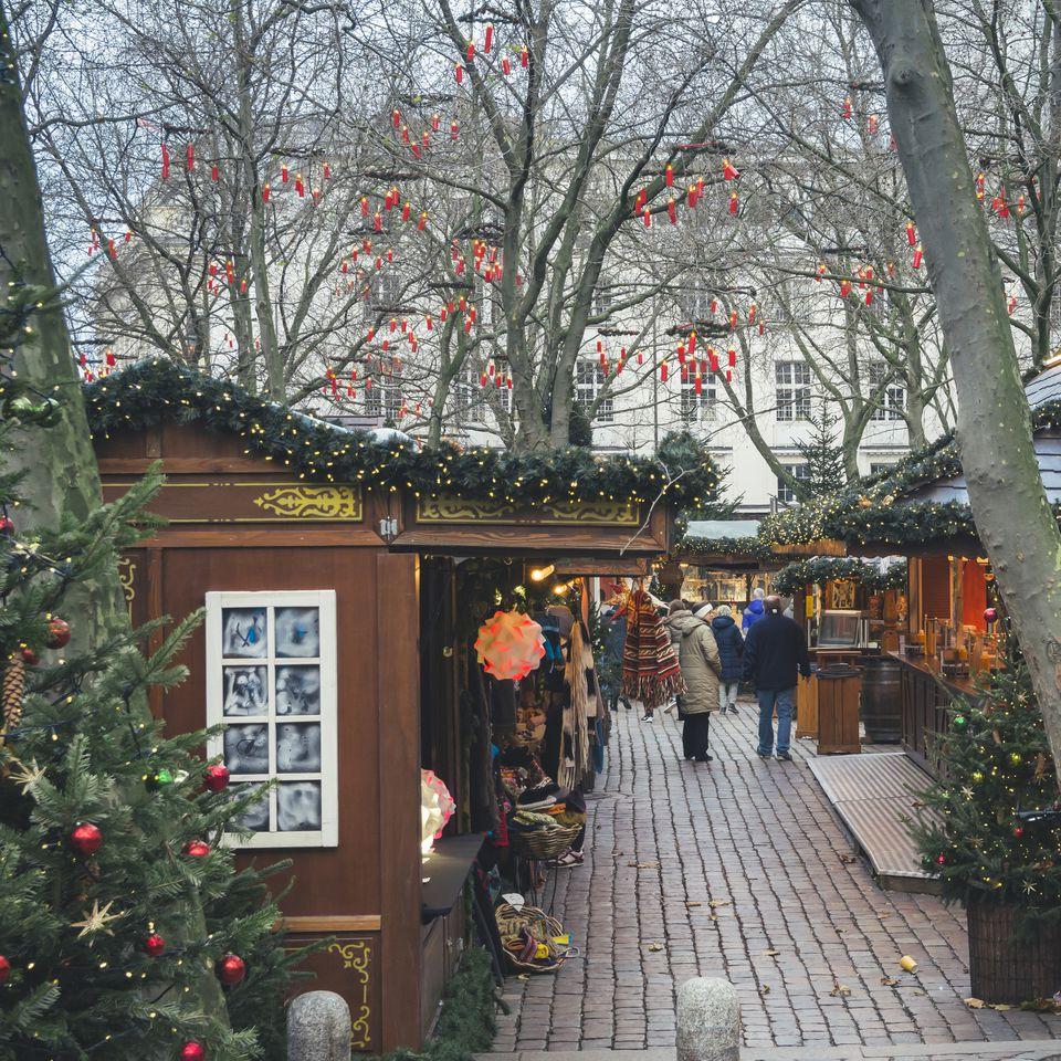 Christmas Markets in Hamburg, Germany