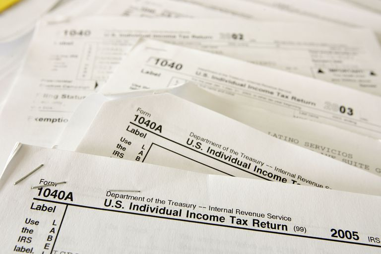 Tax forms for previous years. People who need to file late tax returns can get a break on penalties during a tax amnesty.