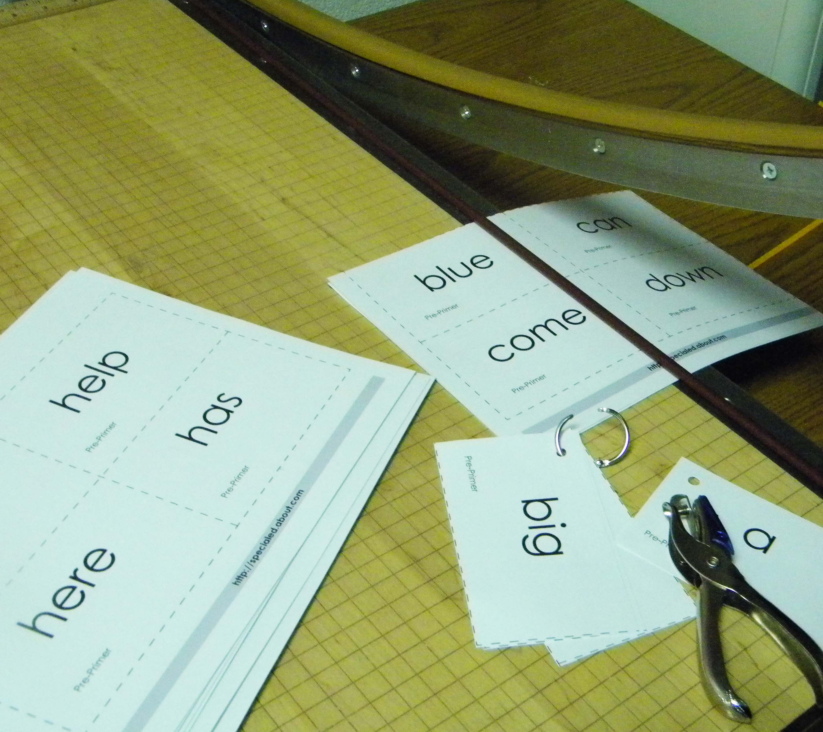 Printable Worksheets for Dolch High Frequency Words