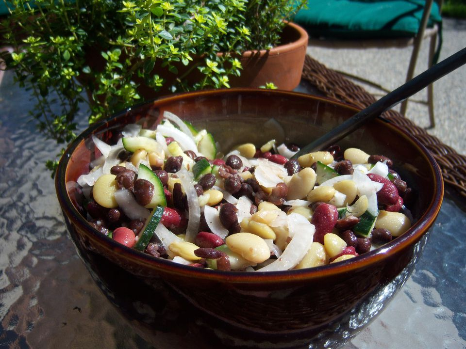 Gluten-Free Bean Salad Recipes Image Teri Gruss