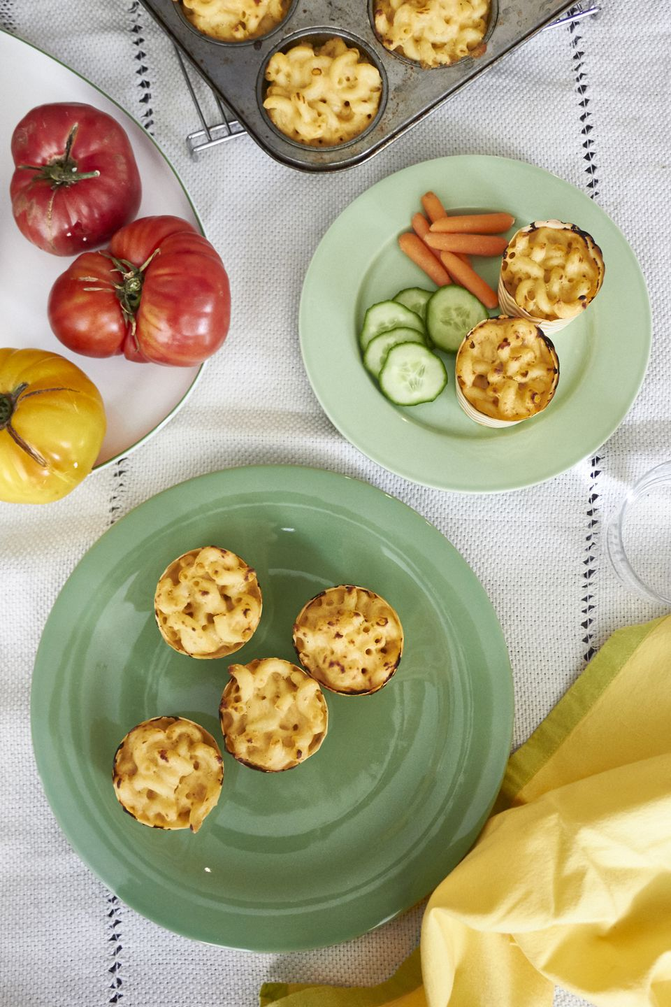 Four-Cheese Mac and Cheese Muffins
