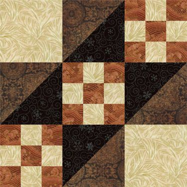 Road to California Quilt Block Pattern