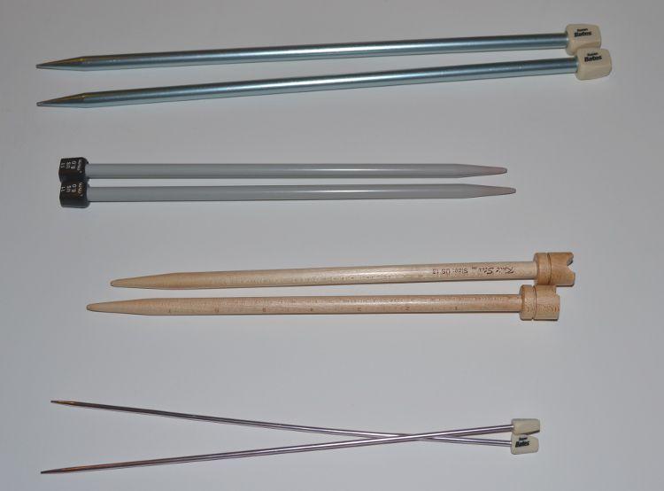 Straight Knitting Needles