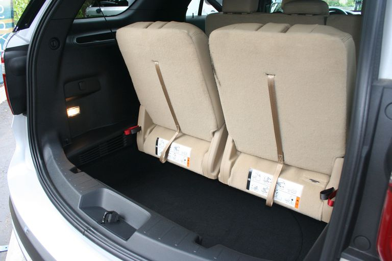 Luggage Space 2016 Ford Explorer Photo C Aaron Gold