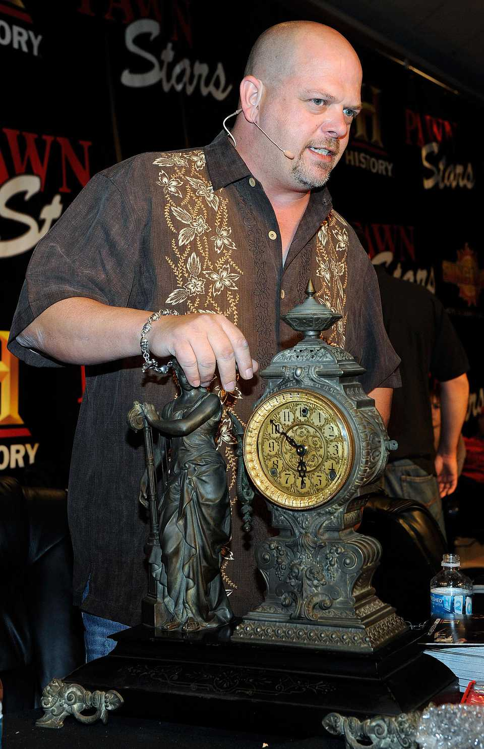 "Rick Harrison of History Channel's ""Pawn Stars"""