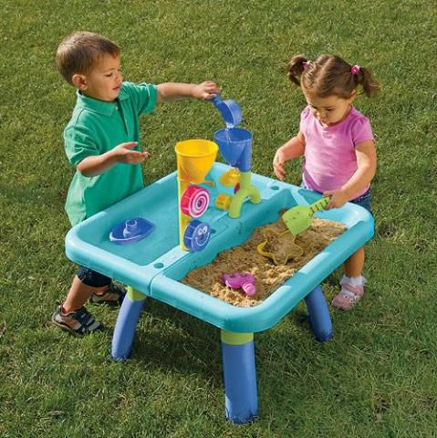 Sand and Water Table from One Step Ahead