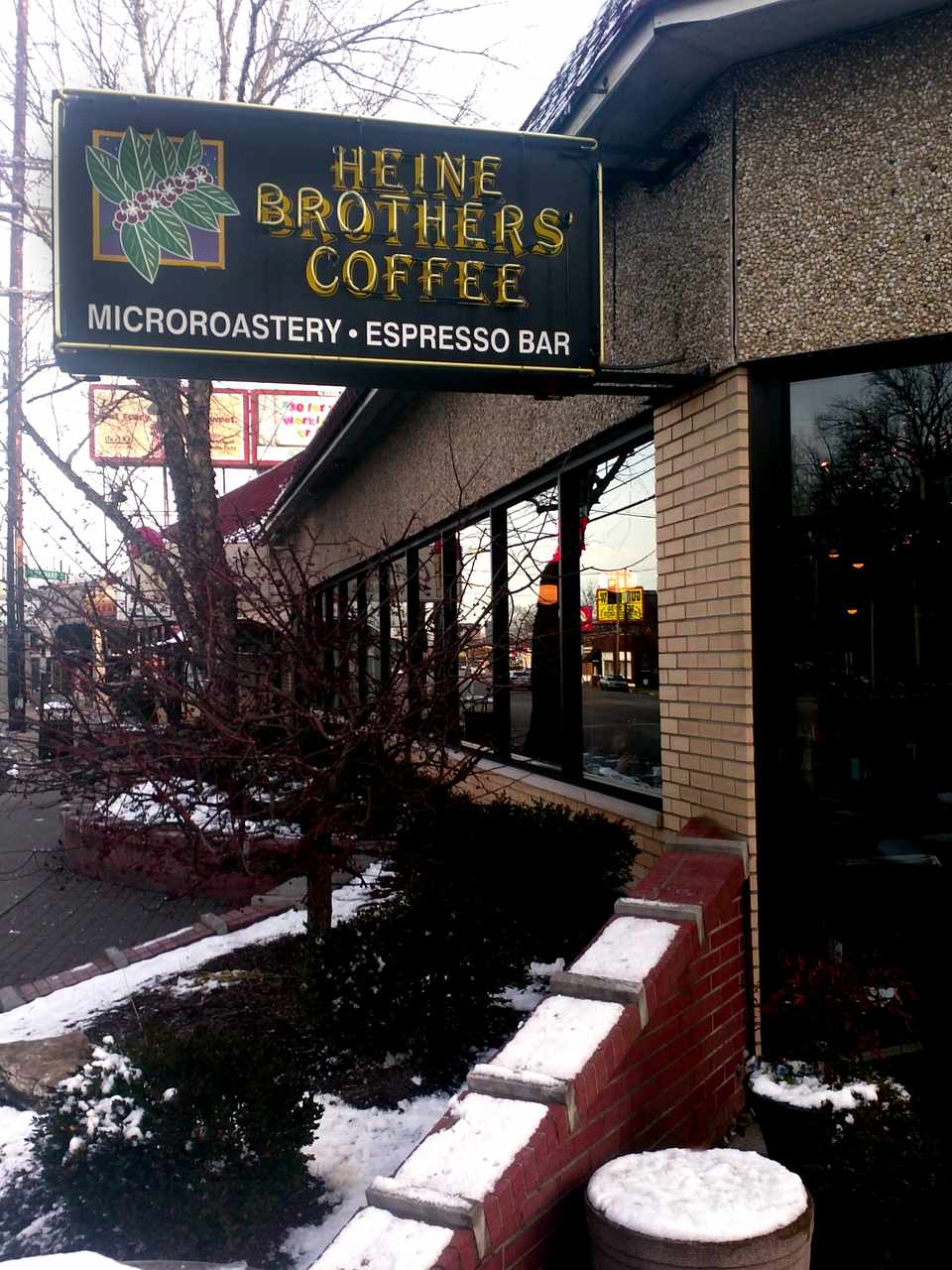 Heine Brothers Coffee in Louisville, KY.