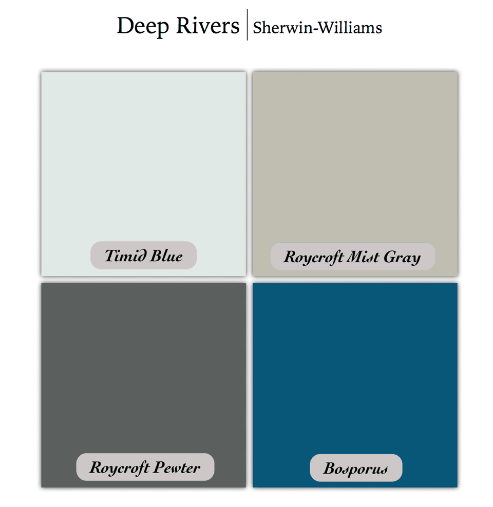 The Most-Pinned Color Palettes