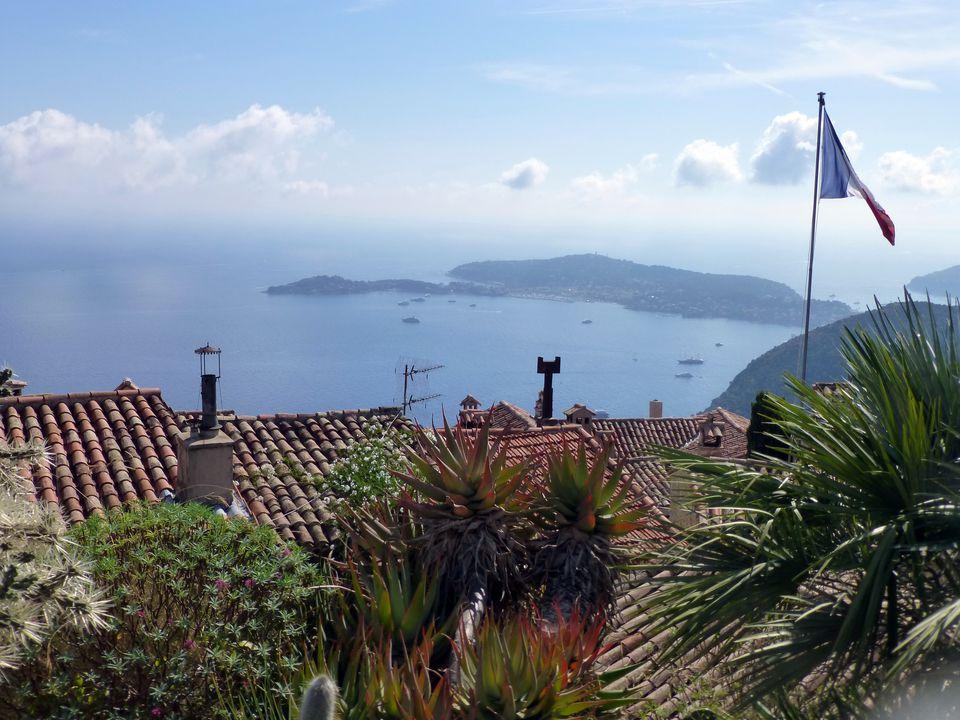 Eze, France on the Mediterranean