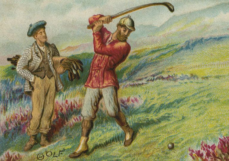 Golf illustration from 1895