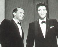 Elvis and Frank Sinatra in 1960
