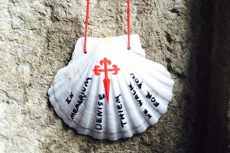 Memorial Shell for Camino Walker Denise Thiem
