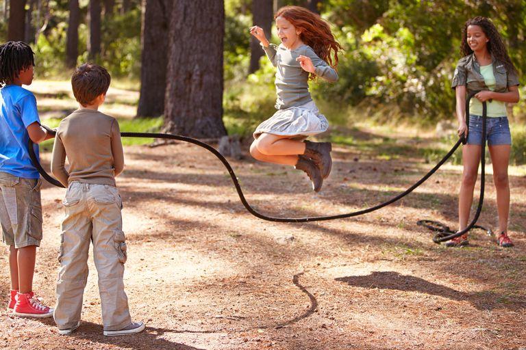 teach grandchildren jump rope rhymes