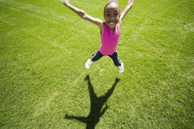 Warm ups for kids: Jumping jacks