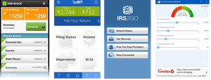 Best income tax apps for Android tax year 2013.